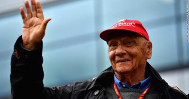 Niki Lauda: Three-time Formula One champion dead at 70