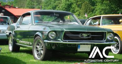 Photo gallery from Meeting of veterans and Ford Mustangs Milíkov 2019 GT-390 BULLITT