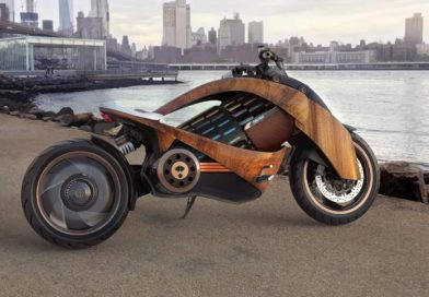 This Is Newron Motors' Incredible Curved-Wood Electric Motorcycle