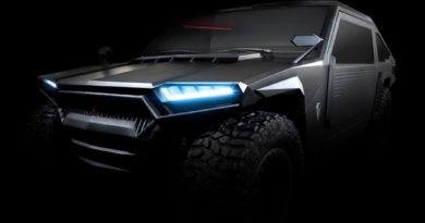 THIS CARBON-FIBER, KEVLAR, AND TITANIUM SUV IS LITERALLY BULLETPROOF